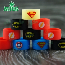 Vape band custom available best quality silicone vape band customized vape band from RHS store 1000pcs free shipping by DHL(China)