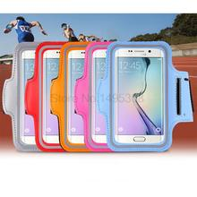 S8 case Waterproof Sport Running Arm Band bag For Samsung Galaxy S6 S7 Edge S8 S8 plus C5 C7 Gym Leather back Cover phone bags