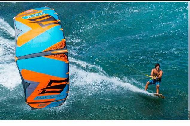 kitesurfing naish park power 2015 kite surfing freestyle kitesurf parachute stunt kite surf paraglider parafoil paragliding bar(China)