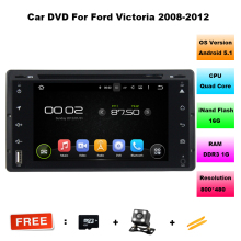 Android 5.11 Quad Core For Ford Crown Victoria 2008~2011 Car DVD Player GPS Navigation Radio iPod BT HD Screen Multimedia System