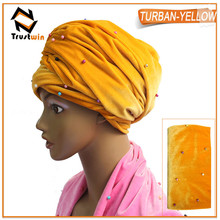 Trustwin aso oke headtie hat New design,african headtie cap ,gele Wrapper Ipele 1 pc/set,Many Colors Available,Turban pi5