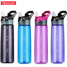 NOCCOL 2017 Water Bottle NOCCOL 700ml Capacity Drinking Water Portable Plastic Sport my Drink Bottle bpa Free(China)