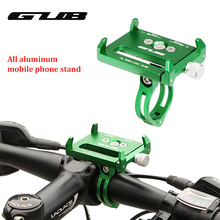 GUB Adjustable Universal Bike Phone Stand For 3.5-6.2inch Smartphone  Plastic Aluminum Bicycle Handlebar Holder Mount Bracket