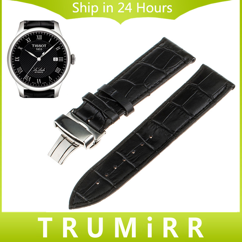 16mm 18mm 20mm 22mm 24mm Calf Genuine Leather Alligator Grain Watch Band for Tissot 1853 Wrist Strap Bracelet Black Brown Red<br><br>Aliexpress