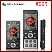 W995 Original Unlocked Sony Ericsson W995 8MP WCDMA 3G 930 mAh GPS Bluetooth WIFI Mobile Phone Free shipping