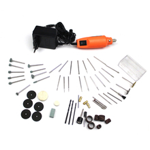 Buy 220V Mini Power Rotary Tool Electric Drill + Grinding Accessories Set dremel Engraving Machine Electric Tool kit for $36.00 in AliExpress store