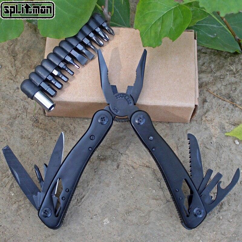 Tool Pliers EDC Multi Purpose Folding Knife Camping Outdoor Survival Gear Cs go Huntsman Fishing Pocket Steel Pliers Hand Tool<br><br>Aliexpress