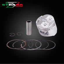 Engine Cylinder Part Piston and Piston Rings Kits For Yamaha FZR250 1HX small ban Motorcycle Accessories(China)