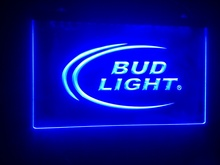 b08 Bud Light 2 size beer Bar pub club 3d signs LED Neon Light Sign home decor crafts