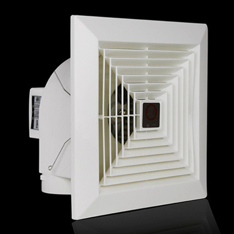 Suction fan toilet/fan/toilet ventilator quiet strength BPT -12 To report Panel size  245MM*245MM Ceiling and Wall <br>