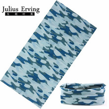 Julius Erving 2017 Fishing Bandana Head Scarf 25*48 Cm Neck Cooling Bandana High Quality Custom Tube Bandana 1pcs/lot
