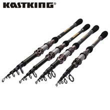 KastKing High Carbon Telescopic Fishing Rod Superhard Ultra Light Rod Carbon 1.8M-2.7M Fishing Rod Spinning Fishing Pole
