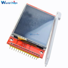 "240x320 2.4"" SPI TFT LCD Touch Panel Serial Port Module With PBC ILI9341 3.3V 2.4 Inch SPI Serial White LED Display(China)"