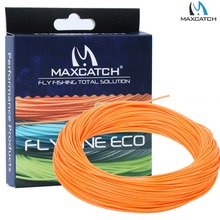 Orange Fly Line Weight Forward Floating Fly Fishing Line with Line Box