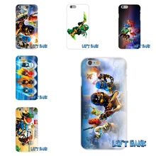 iPhone 4 4S 5 5S 5C SE 6 6S 7 Plus lego ninjago Soft Silicone TPU Transparent Cover Case - LI Phone Cases Store store