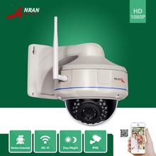 ANRAN Onvif H.264 Sony Sensor 1080P 1920x1080 25fps WIFI Network Wireless IP Camera Vandalproof 30IR Dome - Crystal CCTV Security Products Store store