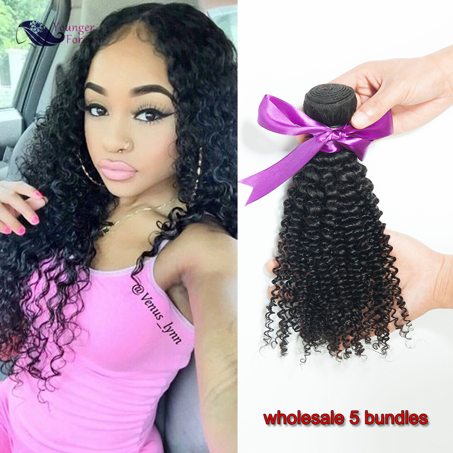 Mongolian Kinky Curly Hair 5 pcs lot Mongolian Afro Kinky Curly Virgin Hair Big Soft Curly 7A Unprocessed Virgin Curly Hair<br><br>Aliexpress