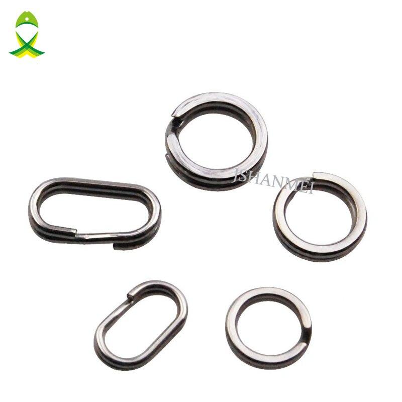 stainless steel oval split rings 13mm x 50