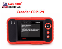 Launch Creader CRP129 OBDII/EOBD Auto Code Scanner free update online diagnostic for 4 system Launch CRP129(China)
