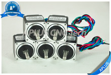 5 PCS NEMA 11 Micro Stepper Motor, 6.36oz-in 28mm 0.6A, 1.8degree, 4wires