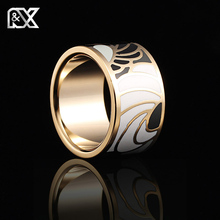 Free Shipping Fashion Jewelry Rings Stainless Steel Rings for Women Colorful Angel Wings Design Enamel Jewelry Trendy Party
