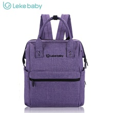 LEKE Brand Baby Bag Fashion Nappy Bags Diaper Bag Backpack  Maternity Bags For Mother Handbag Baby Nappy Backpack Large Size
