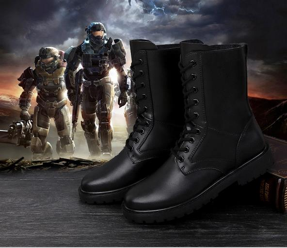 37-52 bigger sizes Mens shoes mens boots winter 2016 supersize 50.51.52 snow boots leather outdoor CS type Male combat boots<br><br>Aliexpress