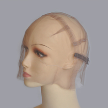 Full Strong Swiss Lace Wig Cap For Making Wigs With Adjustable Straps Customizing Wigs Size S/M/L(China)
