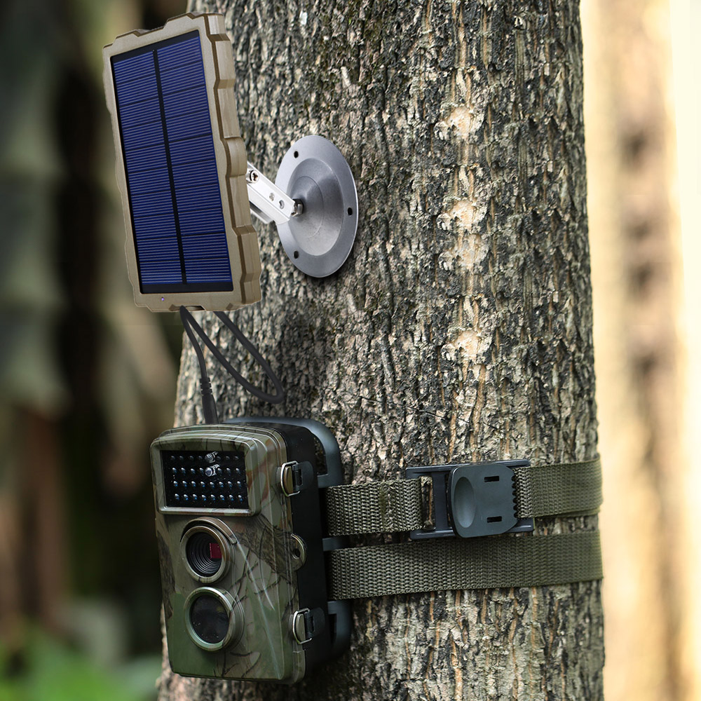 Outdoor Hunting Camera Battery Solar Panel Power Charger External Panel Power for Wild Camera Photo-traps H801 H885 H9 H3 H501 (10)