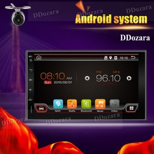 Quad Core 7inch 2 Din Android 6.0 Car Radio Audio Stereo Support GPS TV 3G WiFi Universal GPS Navigation Head Unit