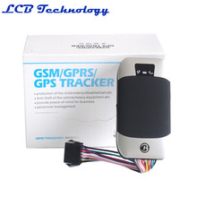 Hot Sale Cell Phone Sim Card GPS Car Tracker With GSM GPS303H Rastreador GPS Tracker Retail Package(China)