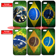 Brazil Flag Back Cover Case for iPhone 4 4S 5 5S SE 5C 6 6S 7 Plus iPod Touch 5 LG G2 G3 G4 G5 G6 Sony Z2 Z3 Z4 Z5