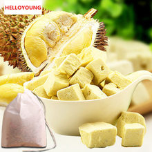 C-TS001 Fresh durian rapid freeze-drying Pure feeling Flavour to rich Crispy and delicious 50g*2 bags = 100g tea bag+gift