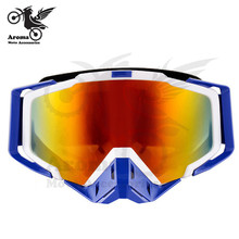 3 Colors Available pro KTM helmet goggle motorcycle goggle motocross goggle skiing glasses racing glasses Orange Color For KTM(China)