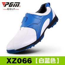 anti-skid 3D breathable patent design sport shoes super light imported microfiber leather resistant good grip golf shoes(China)