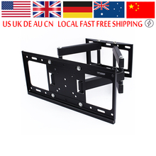 TV Wall Mount Bracket Lcd Arm Swivel 3D Tilt to 50kg for 26 32 37 40 42 46 47 50 52 55 Inch LED TV 55 LCD Flat Screen tv mounts(China)