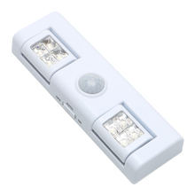 Motion Sensor Light Wireless Step Lamp Battery Operated LED Night Light For Cabinet Drawer Staircase Workshop Basement Garage