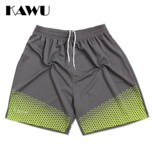 KAWU Soft best running shorts Breathable track athletic short shorts summer Breathable running tights plus size 4XL 5XL P17009