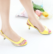 free shipping hot sale fashion summer sweet fish head open-toed sandals thin heel sandals simple sandals size 34-43 P052