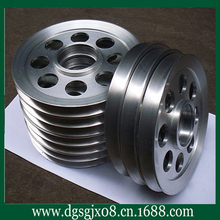 Cable machine aluminum wheel anode,anode pulley [sprayed porcelain, hard chromium]