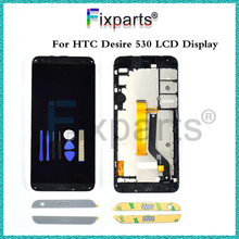 "5.0""For HTC Desire 530 LCD Display Touch Screen Digitizer Assembly 1280X720 Mobile Phone Replacement Repair Part For HTC 530 LCD(China)"