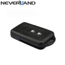 New 2 Button Replacement Remote Car Key Shell Fob Case For Nissan MICRA Xtrail QASHQAI JUKE DUKE NAVARA Free Shipping D25