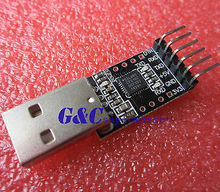 6Pin USB 2.0 to TTL UART Module Serial Converter CP2102 STC Replace Ft232 Adapter Module(China)