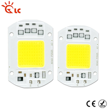 LanChuang LED COB Chip 220V 240V 7W 12W 20W 30W 50W cold white warm white LED Bulb Lamp Input Smart IC Flood Light Spotlight