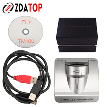 TM100 Auto Transponder Programmer V2.0 Transponder Programmer Immobilizer Basic Version TM 100 Support All Key Lost TM100