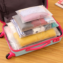 Free Shipping travel storage bag Clothes Zip Lock Plastic Bag Clear Resealable Bag waterproof Self Sealing Bag organizer