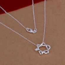 Free Shipping!!Wholesale silver plated Necklaces & Pendants,925 jewelry silver,18inch Star Necklace SMTN122
