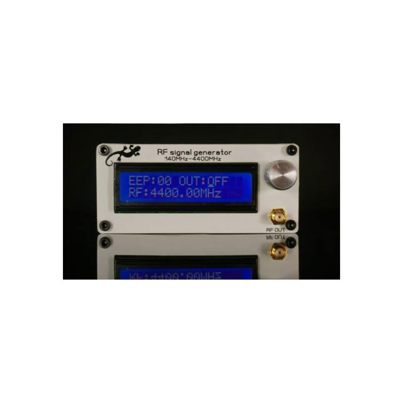 Battery Antenna 140MHZ-4400MHZ RF Signal Generator Signal Source Digital LCD