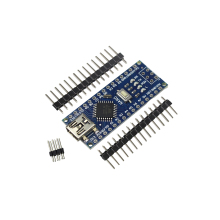 Freeshipping Smart Electronics Integrated 1PCS Nano 3.0 controller compatible with for arduino nano CH340 USB driver NO CABLE