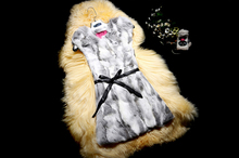 2017 New Fashion 100% True Real Rabbit Fur Vest Pure Natural Fur Vest for Women Wholesale custom made KFP649(China)